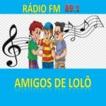 Logo da emissora Rádio Amigos de Lolô