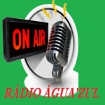 Logo da emissora Rádio Água'zul