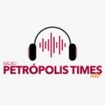 Logo da emissora Rádio Petrópolis Times