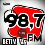 Logo da emissora Rádio Clube Betim MG