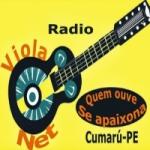 Logo da emissora Rádio Viola Net