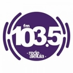 Logo da emissora Rádio Rede Aleluia 103.5 FM