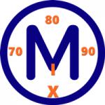 Logo da emissora Rádio 70 80 90 Mix