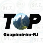 Logo da emissora Rádio Top Guapimirim