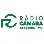 Logo da emissora Rádio Câmara Capelinha