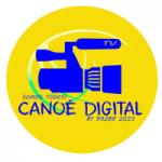 Logo da emissora Rádio Canoé Digital