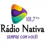 Logo da emissora Rádio Nativa FM Bagé