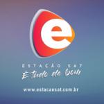Logo da emissora Rede Estação Sat