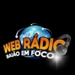 Logo da emissora Web Rádio Baião em Foco
