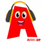 Logo da emissora Rádio Alegre Areias-SP