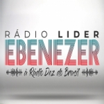 Logo da emissora Rádio Líder Ebenézer