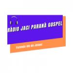 Logo da emissora Rádio Jaci Paraná Gospel