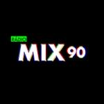 Logo da emissora Rádio Mix 90