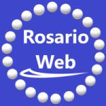 Logo da emissora Rádio Rosário Web