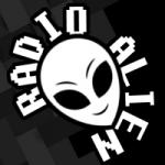 Logo da emissora Rádio Alien
