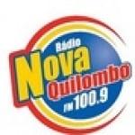 Logo da emissora Rádio Nova Quilombo 100.9 FM
