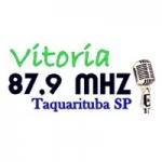 Logo da emissora Rádio Vitória 87.9 FM