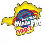 Logo da emissora Super Rádio Minas 100.1 FM