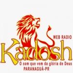 Logo da emissora Web Rádio Kadosh Paranaguá