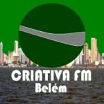 Logo da emissora Rádio Web Criativa FM Belém