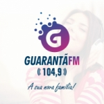 Logo da emissora Rádio Guarantã 104.9 FM