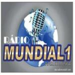 Logo da emissora Rádio Mundial 1