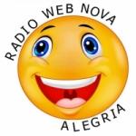 Logo da emissora Rádio Web Nova Alegria