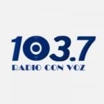 Logo da emissora Radio Con Voz 103.7 FM