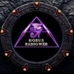 Logo da emissora Hórus Rádio Web
