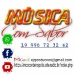 Logo da emissora Web Rádio Música Com Sabor