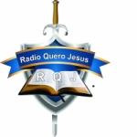 Logo da emissora Rádio Quero Jesus