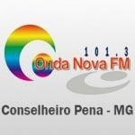 Logo da emissora Rádio Onda Nova 101.3 FM