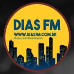 Logo da emissora Rádio Dias FM