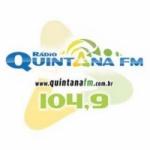 Logo da emissora Rádio Quintana 104.9 FM