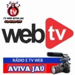 Logo da emissora Rádio Web Tv Aviva Jau