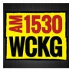 Logo da emissora WCKG 1530 AM
