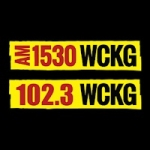 Logo da emissora WCKG 1530 AM 102.3 FM