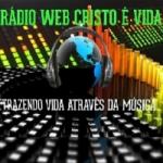 Logo da emissora Rádio Web Cristo é Vida