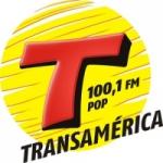 Logo da emissora Rádio Transamérica 100.1 FM