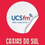 Logo da emissora Rádio UCS 106.5 FM