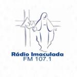 Logo da emissora Rádio Imaculada 107.1 FM