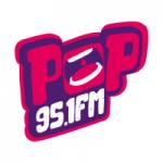 Logo da emissora Rádio Pop 95.1 FM