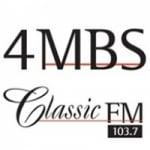 Logo da emissora Radio 4MBS FM 103.7