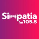 Logo da emissora Rádio Simpatia 105.5 FM