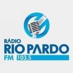 Logo da emissora Rádio Rio Pardo 103.5 FM
