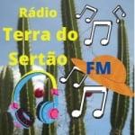 Logo da emissora Rádio Terra do Sertão FM