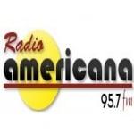 Logo da emissora Radio Americana 95.7 FM
