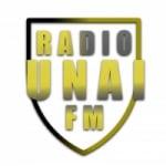 Logo da emissora Rádio Unaí FM