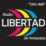 Logo da emissora Radio Libertad 1310 AM