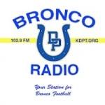 Logo da emissora KDPT 102.9 FM